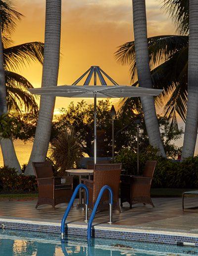 FiberBuilt Flight Umbrella at Sunset