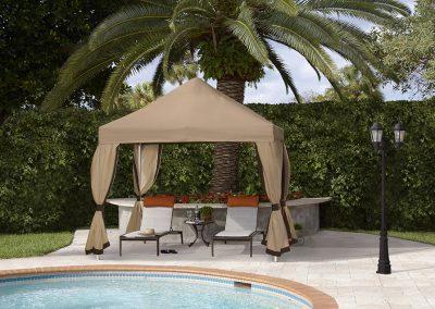 FiberBuilt Pop Up Tent with Curtains